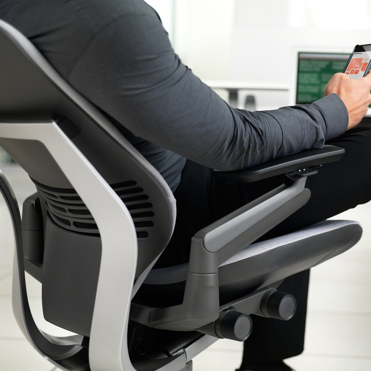 Gesture Office Chair Ergonomic office chair, Office
