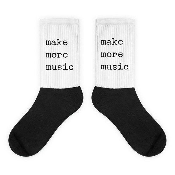 Music Teacher socks gift