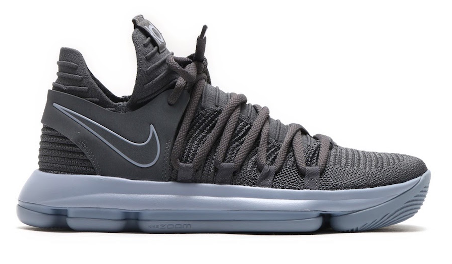 0bac4d90ad29 Nike KD 10 Dark Grey Releasing Later This Month