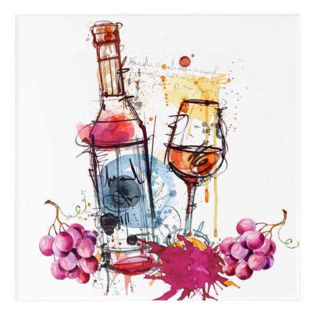 Photo of Wine Acrylic Wall Art