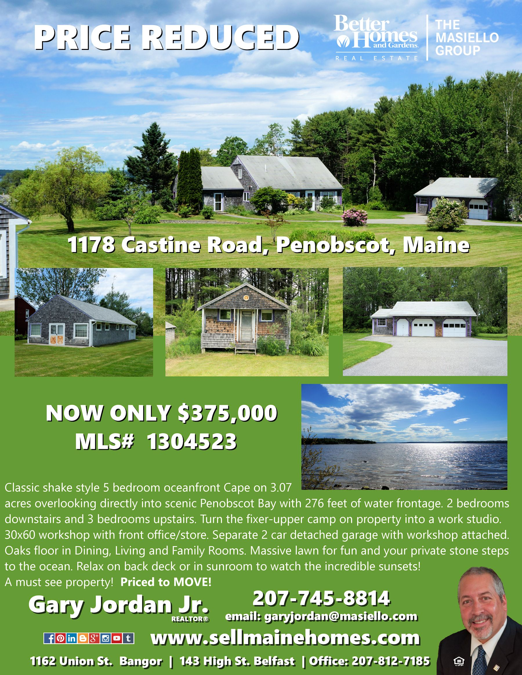 Pin By Gary R Jordan Jr Realtor On Sold Homes In Maine Maine