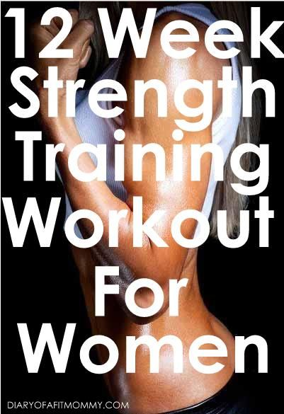 12 Week Strength Training Workout for Women | Summer is