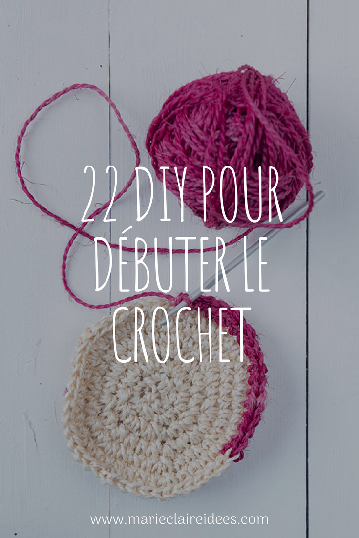 22 DIY pour apprendre le crochet facilement   DIY - Bijoux,Objets ... 278295e926c