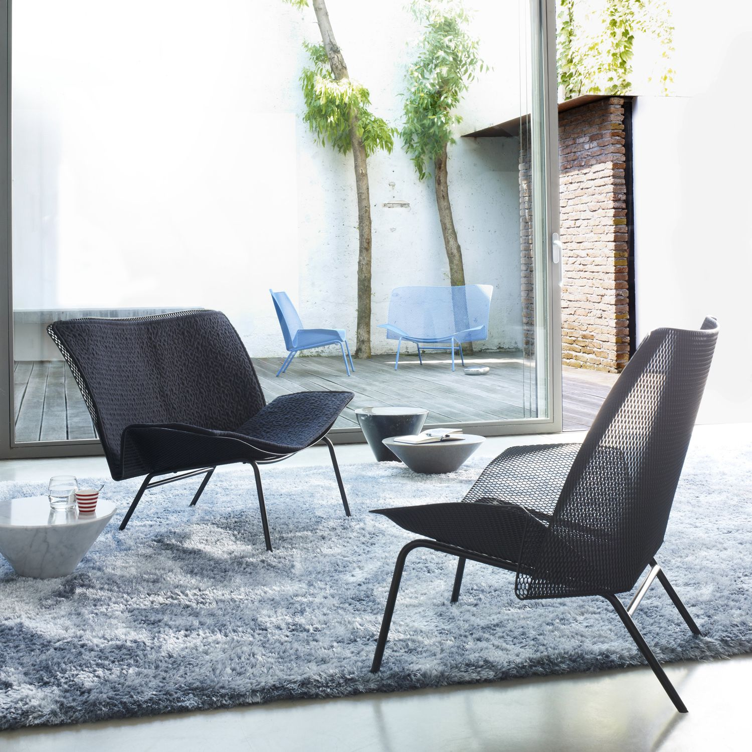 Chaise Grillage Ligne Roset Grillage Black Seat Chairs Chairs And Stools