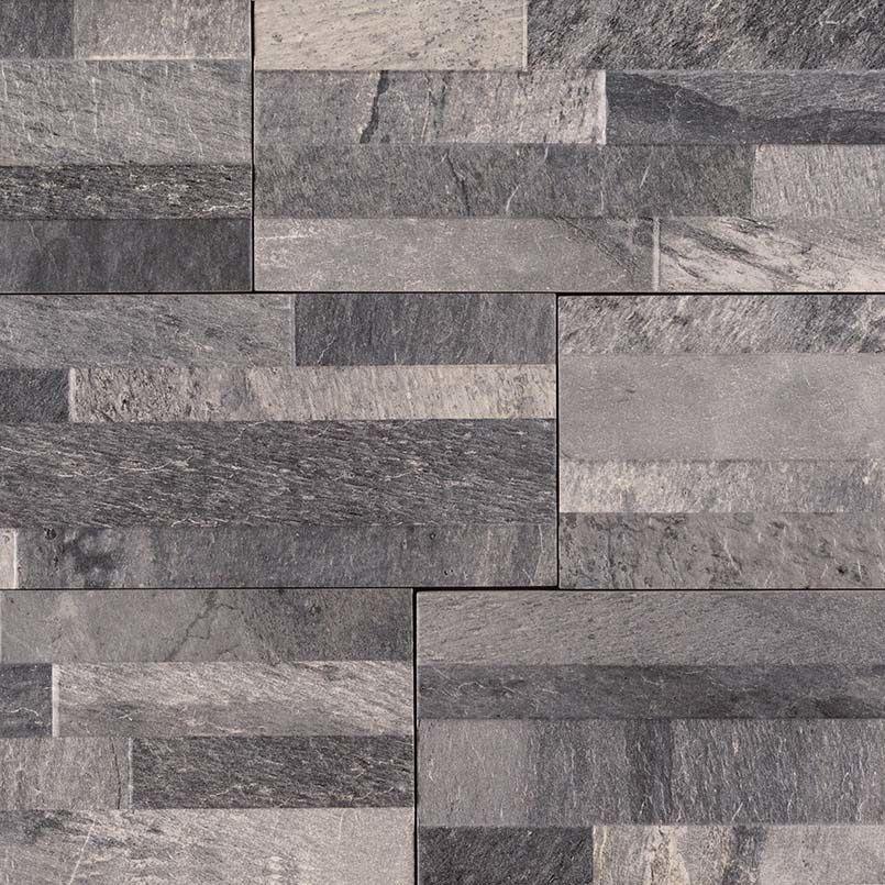 Cubics Ardesia Black 6 X 24 3d Porcelain Wall Panel 3 99 Per Square Foot Porcelain Wall Tile Wall Paneling Black Porcelain Tiles