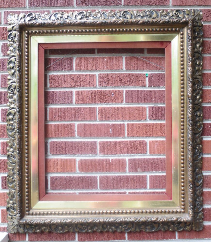 Antique victorian large compo gesso picture frame 20 x 24 c1860 antique victorian large compo gesso picture frame 20 x 24 c1860 charleston sc jeuxipadfo Choice Image