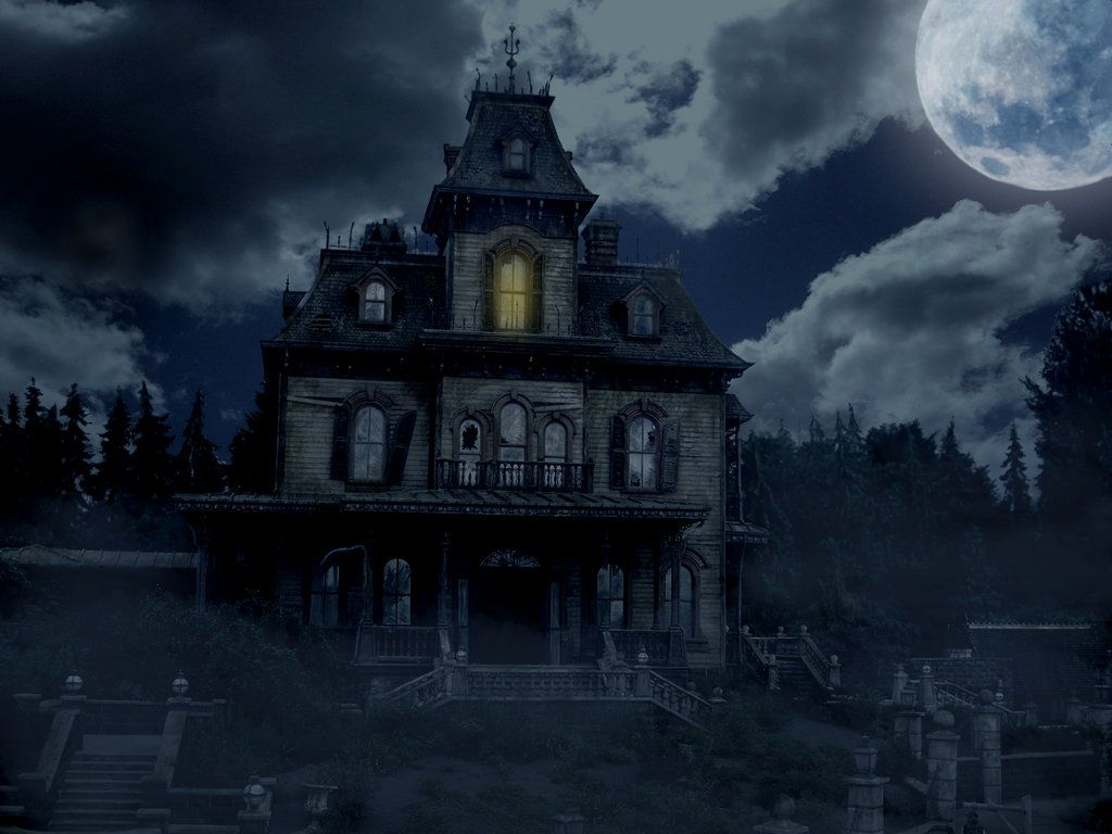 Haunted House | Tattoo Ideas | Pinterest | Haunted Houses And House