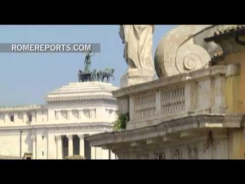 """Con los """"Post-clásicos"""" el Foro romano y la colina del Palatino se visten de modernidad"""