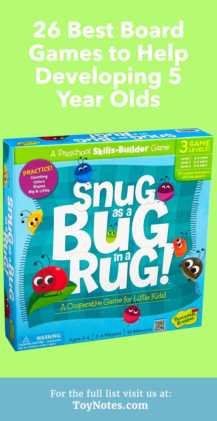 26 Best Board Games to Help Developing 5 Year Olds - Toy ...