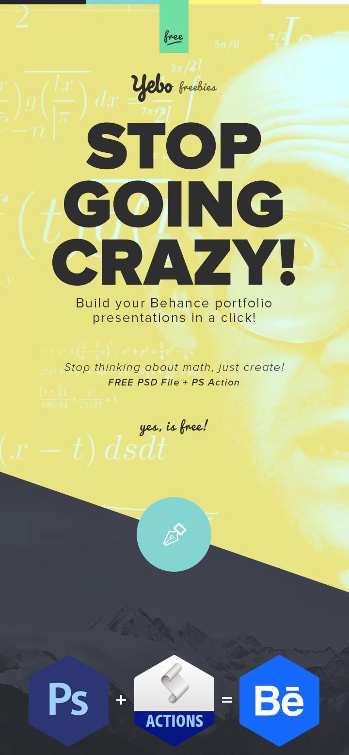 free behance presentation builder free stuff design