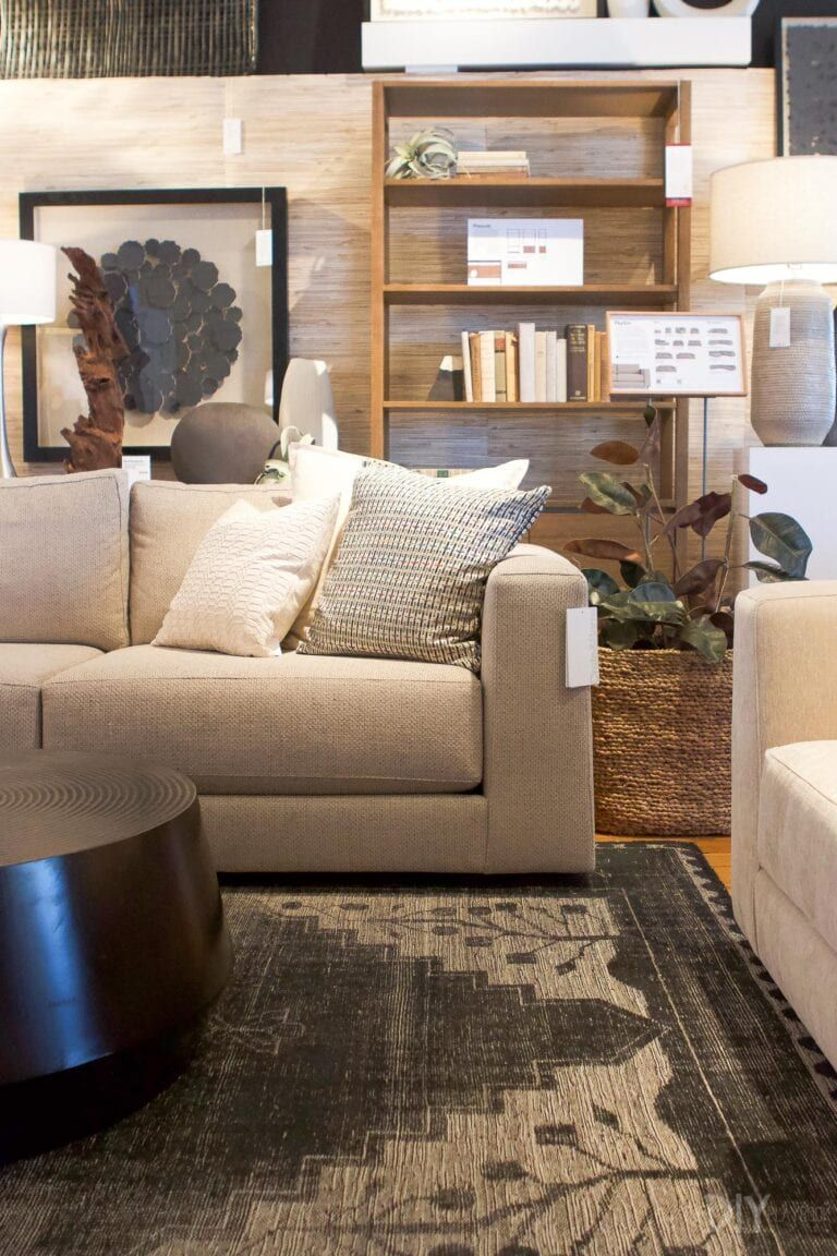 We Went Shopping At Crateandbarrel For A New Sofa During Their