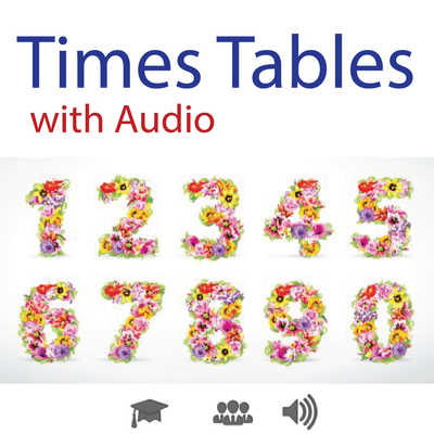 Times Tables With Audio An Easy Way To Learn Multiplication Tables