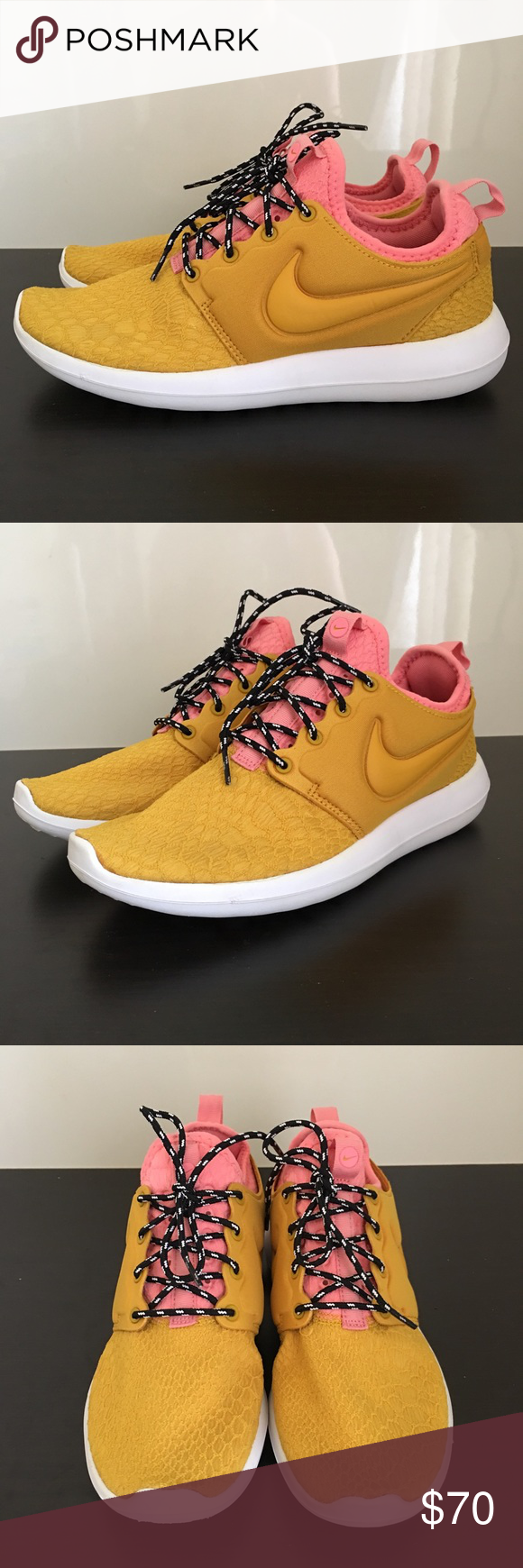 f2fef47d95a10 WOMEN NIKE ROSHE 2 RUNNING TRAINING SNEAKERS SZ 8 EXCELLENT PREOWNED  CONDITION WOMENS NIKE ROSHE 2