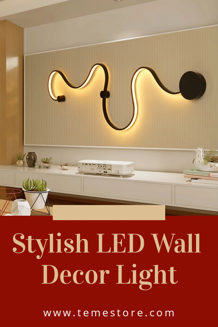 Nordic Creative Wall Light Led Bedroom Decoration Beautiful Home