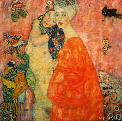 Gustav Klimt - Girlfriends