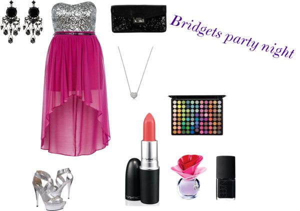 """""""Bridgets party night"""" by madisonfox on Polyvore"""