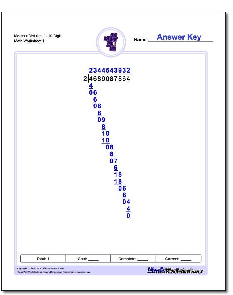 hight resolution of Long division is an important math skill that is typically introduced  around 3rd grade or 4th grade …   Division worksheets