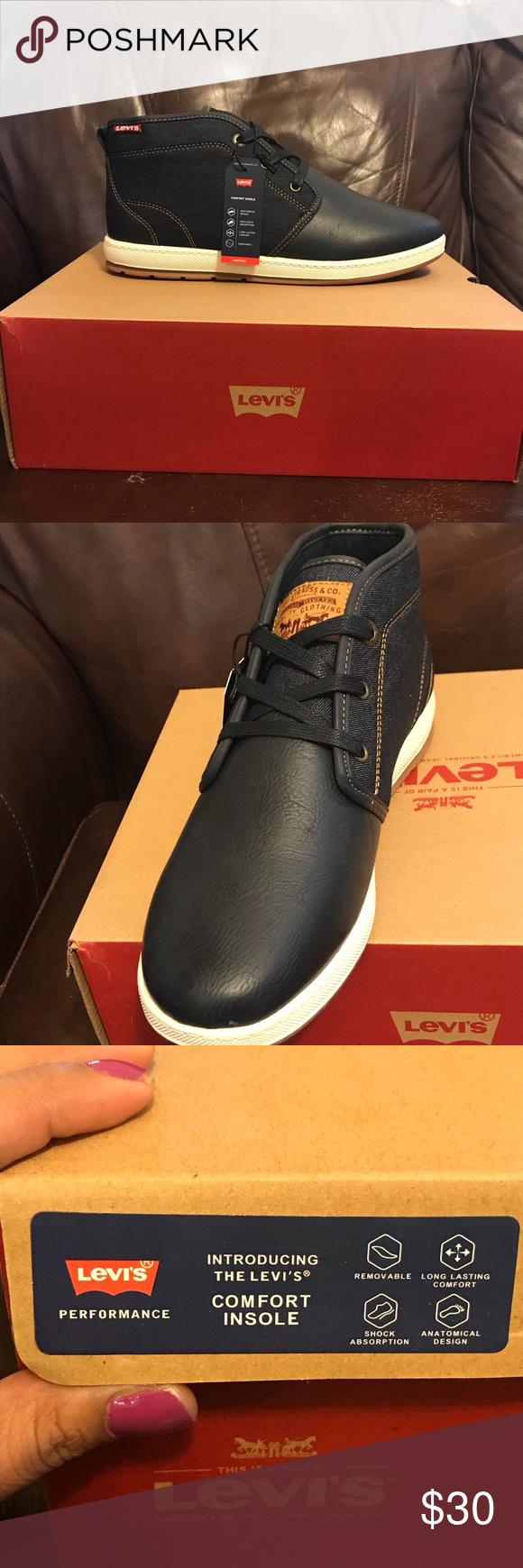 Ace Milestone Denim Levi's shoe. MENS