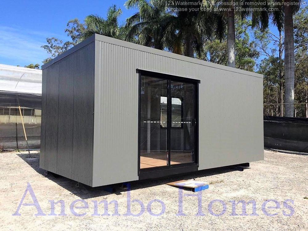 Tiny House - 9.8m2 DIY Instant Home - No Council Permit Required ...