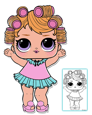 Pin by LOL SURPRISE COLORING PAGES on LOL SUPRISE DOLL
