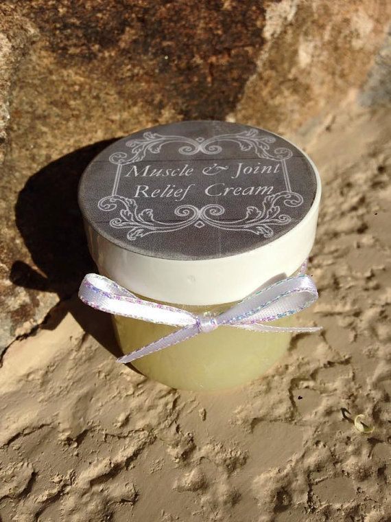 100% 2 oz Organic Muscle and Joint Relief Cream by YoganicsShop
