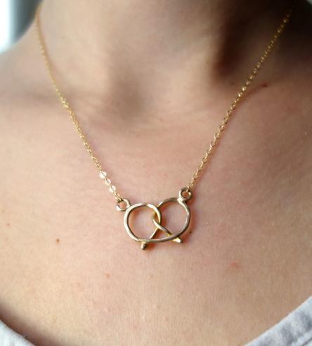 Pretzel Necklace   Women's Jewelry   Rachel Pfeffer Jewelry   Scoutmob Shoppe   Product Detail