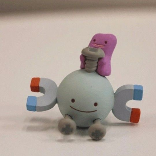 Ditto Transform Figures released by the Pokemon Center -