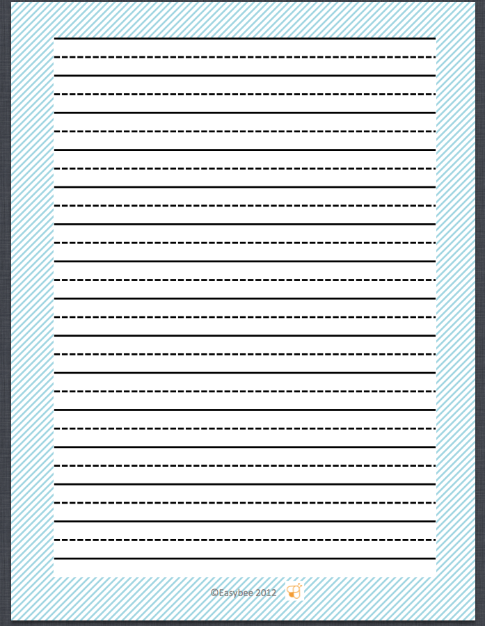 30++ Writing worksheets with lines Images