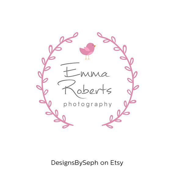 Pre-made Photography Logo & Photography Watermark from my shop Designsbyseph, found on Etsy.com  If you found me on Pinterest, enter this COUPON CODE at check out for 10% off: PINTEREST10  https://www.etsy.com/shop/DesignsBySeph  This logo can be used as a: blog logo - blog header - website logo - branding logo - photography watermark - Facebook profile picture - social media logo - photography logo - pre-made logo - logo template - watermark - company logo - business logo