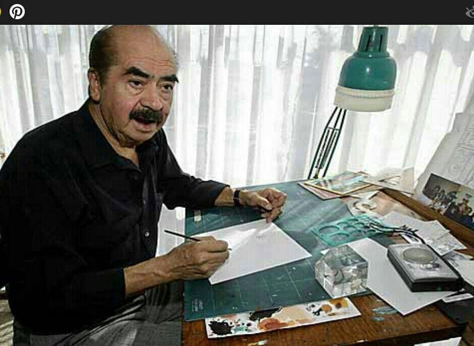 Sixto Valencia dibujante de Memín Pingüin. desde 1960. Colaboró a dibujar los timbres postales en 2005.Google.
