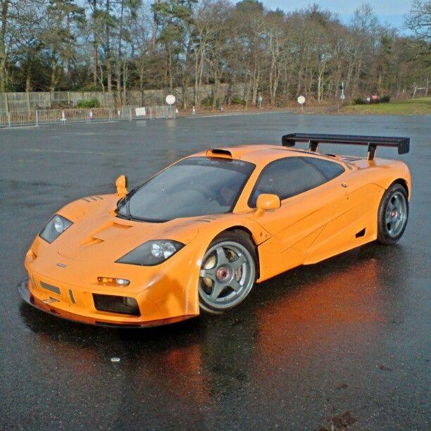 Orange Pagani Zonda: Orange F1 Anyone? #McLaren