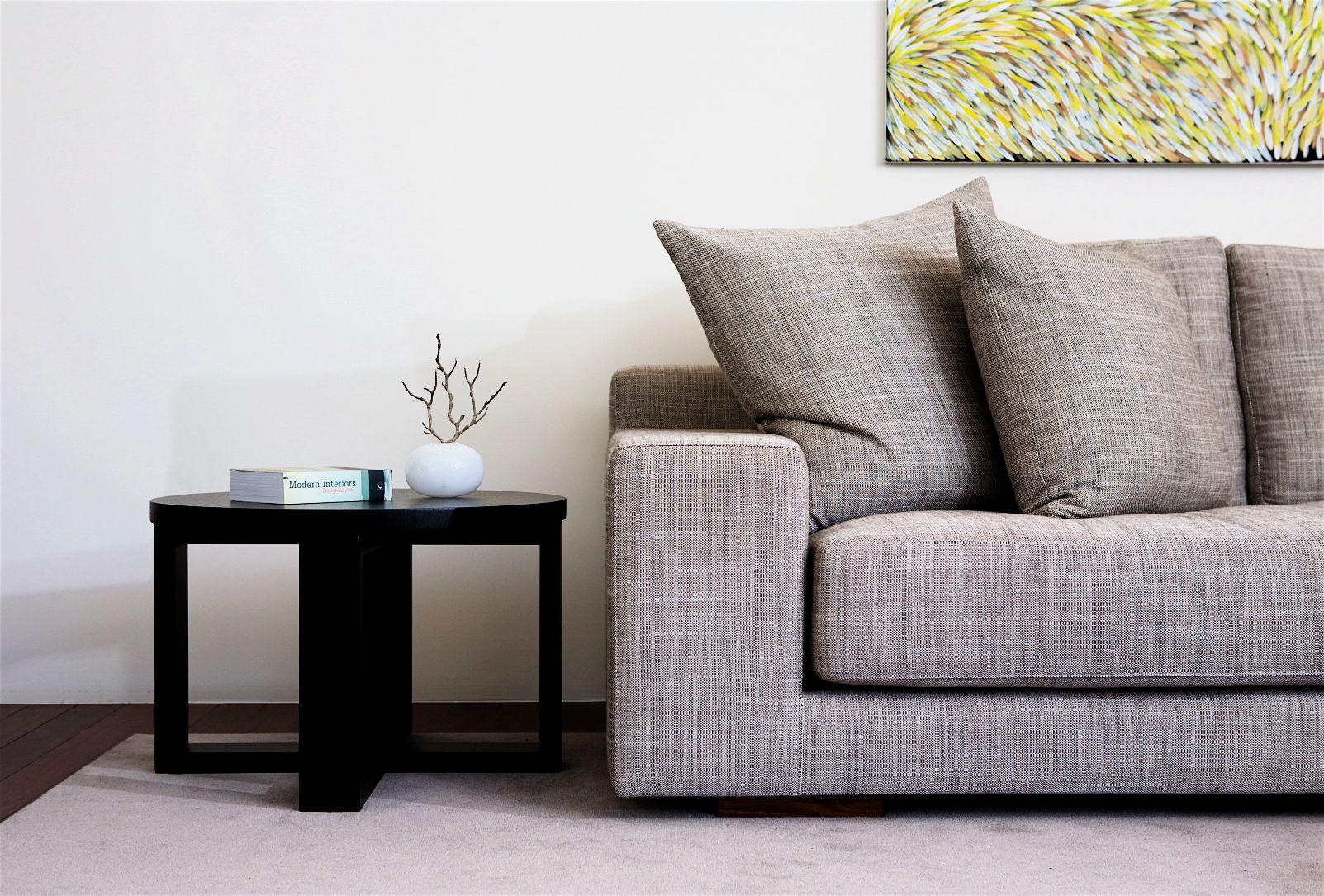 Eaglemont House Melbourne Australia Formal Sitting Room Featuring Empire Sofa By Jardan Covered In Furniture Living Room Inspiration Sideboard Furniture