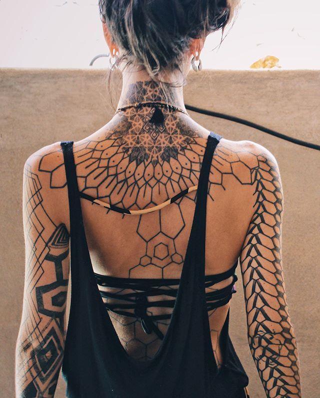 Photo of Geometric inspiration Inkstinct – ……………… # beach dress #black ….