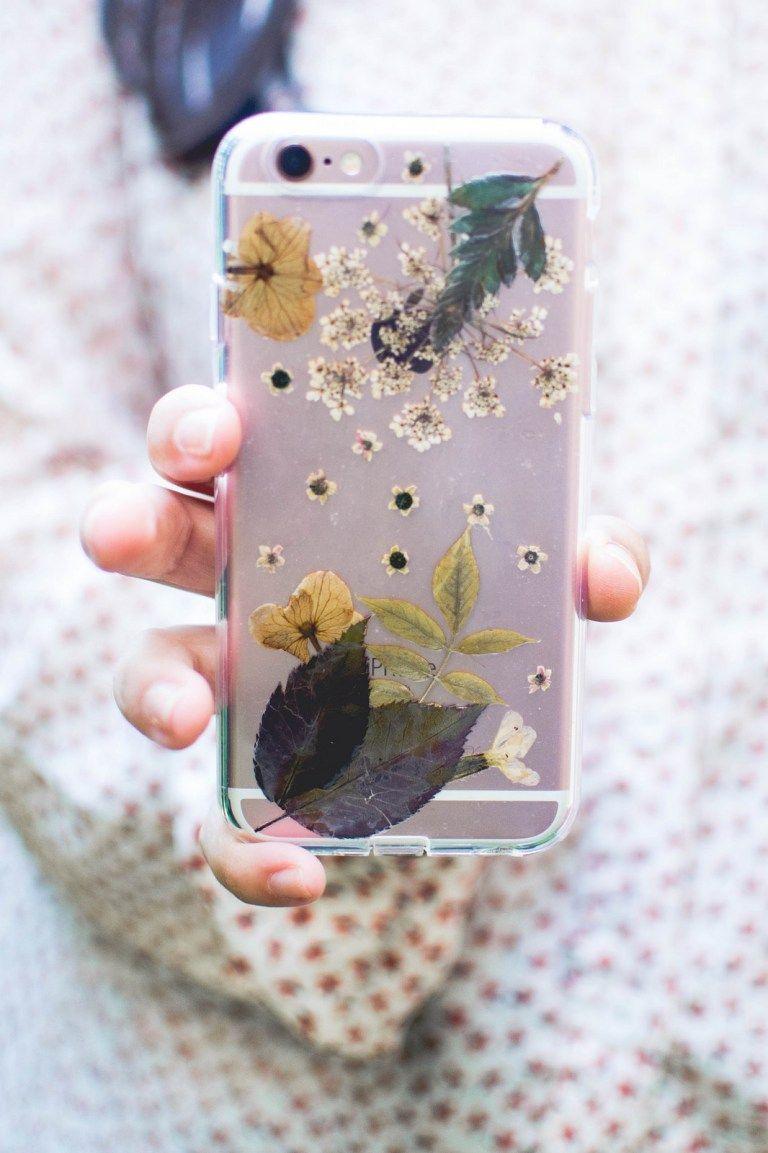 Pressed Flower Phone Case Diy Diy Phone Case Handyhüllen