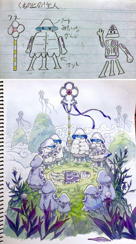 Kids Drawings Into Art