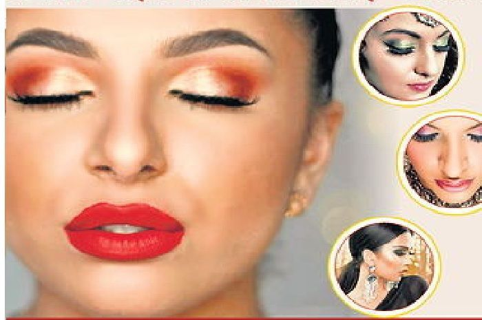 Photo of Get perfect makeup with white liner pencil and shimmer blush…