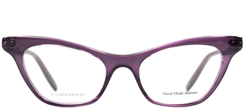 f6e3d9645a7 Bottega Veneta BV 233 367 Cyclamen Cat Eye Eyeglasses