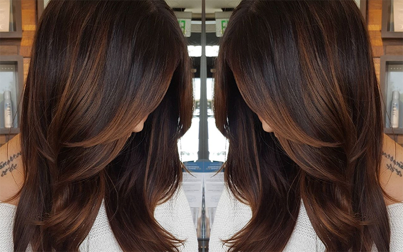 Color How To Cinnamon Hot Chocolate Hair Color Chocolate Hot