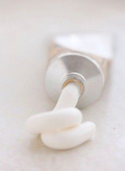 White tube of paint - Top Pinterest pic selected by RetoxMagazine.com