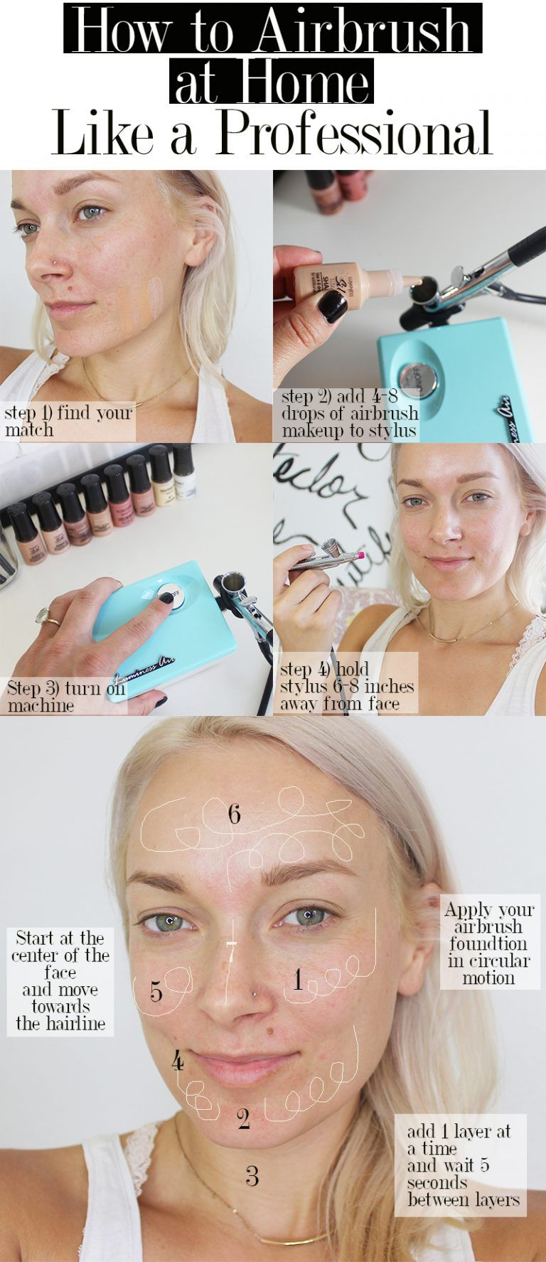 11 Personal Airbrush Makeup Tips With Luminess Air - Citizens of