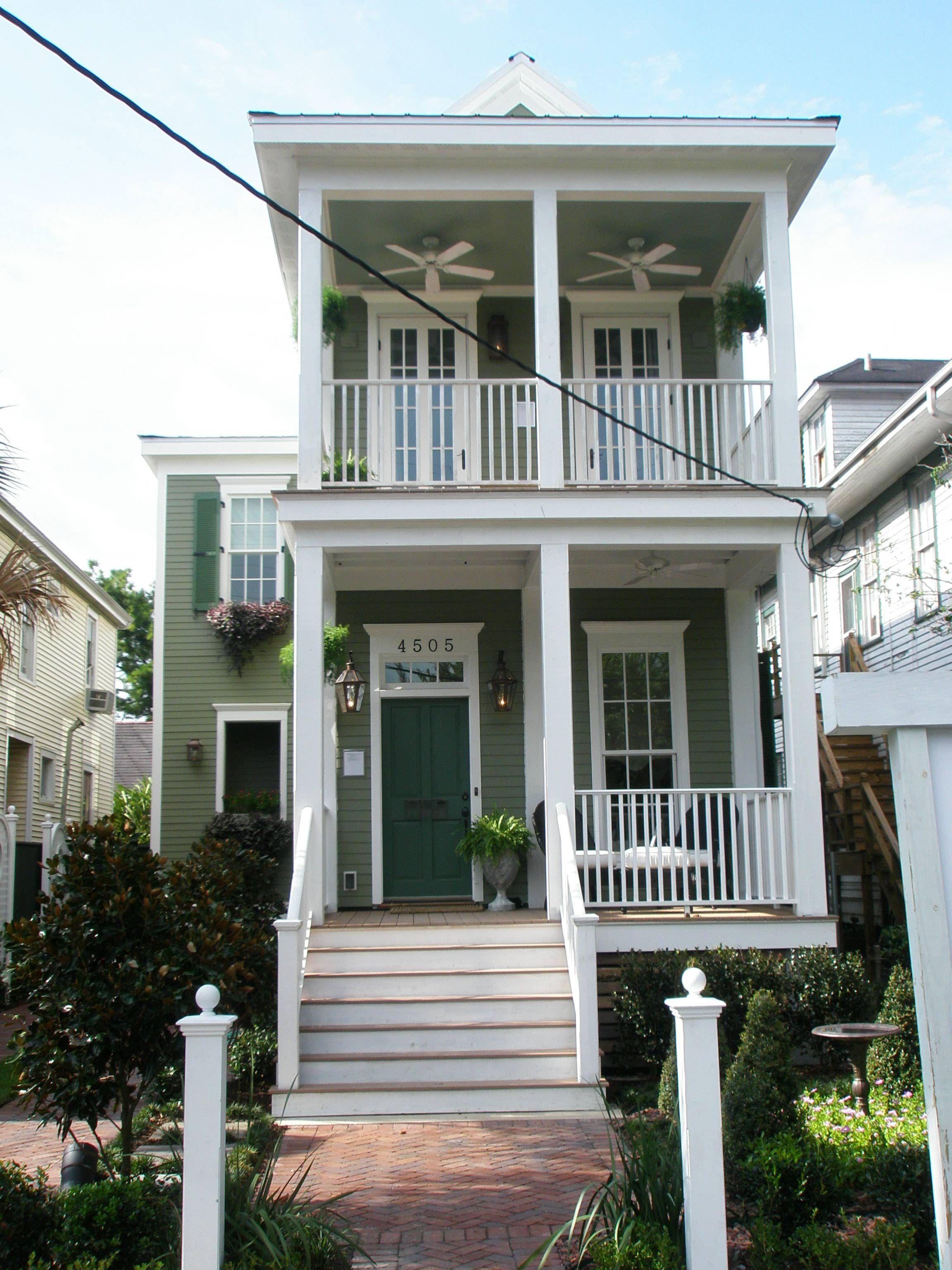 Shotgun House Design: 2007 Cottage Living Idea Home