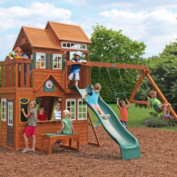 cabane de jardin pour enfant, le royaume des enfants