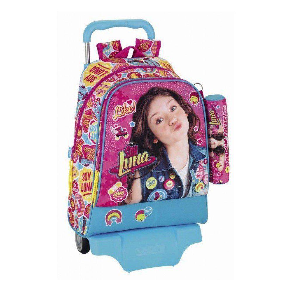 Resultado de imagen para mochilas de soy luna con rueditas