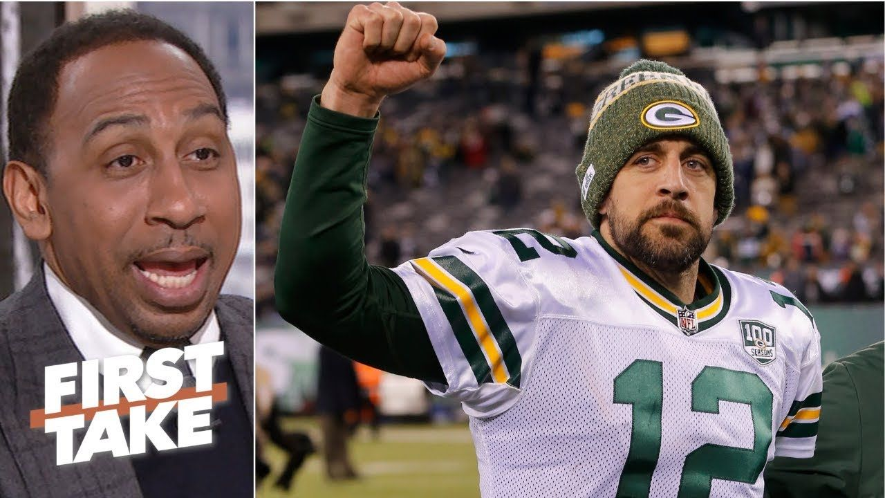 Criticism Of Aaron Rodgers Is Worthless Stephen A First Take Aaron Rodgers Basketball News Criticism