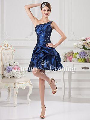 Corset a Line Short Prom Dresses