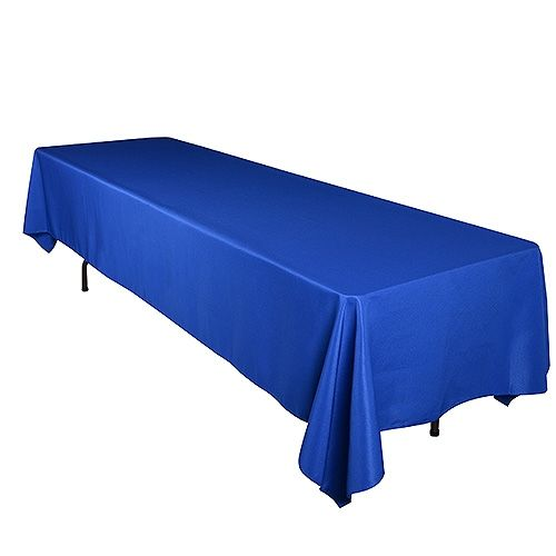 Superb 60 X 102 Rectangle Tablecloths Royal Blue ( 60 Inch X 102 Inch )   BBCrafts  Store Has Quality Tulle Fabrics, Ribbons, Wedding Supplies, Tablecloths And  Deco ...