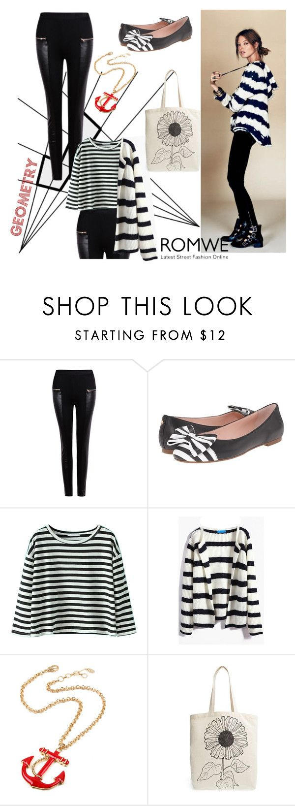 """""""Geometry Rules"""" by geekyfashionblog ❤ liked on Polyvore featuring Free People, Kate Spade, Amrita Singh, Tri-coastal Design, women's clothing, women, female, woman, misses and juniors"""