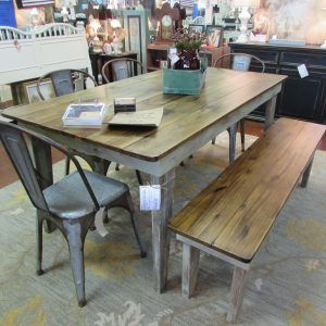 Amazing Farmhouse Table With Drop Leaf