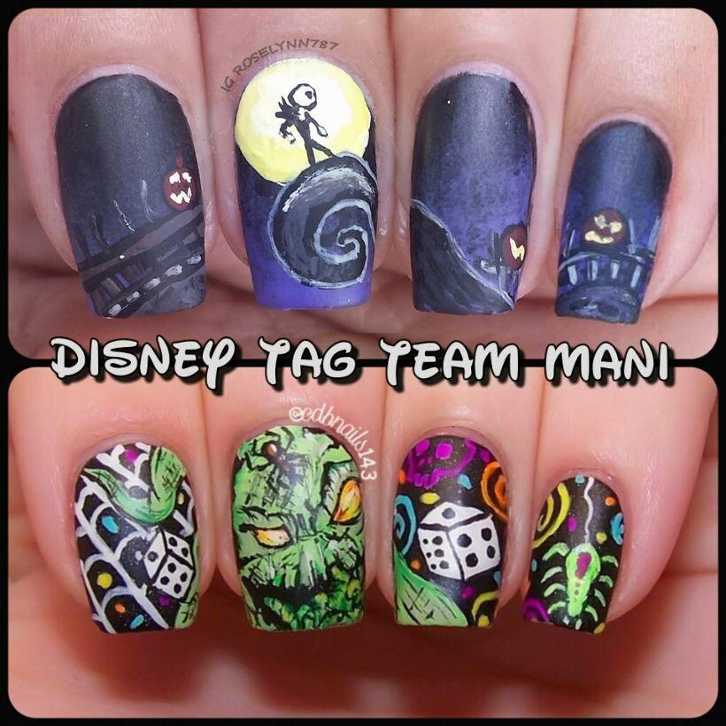 Manicured & Marvelous: Disney Heroes vs Villains #DisneyTagTeamMani