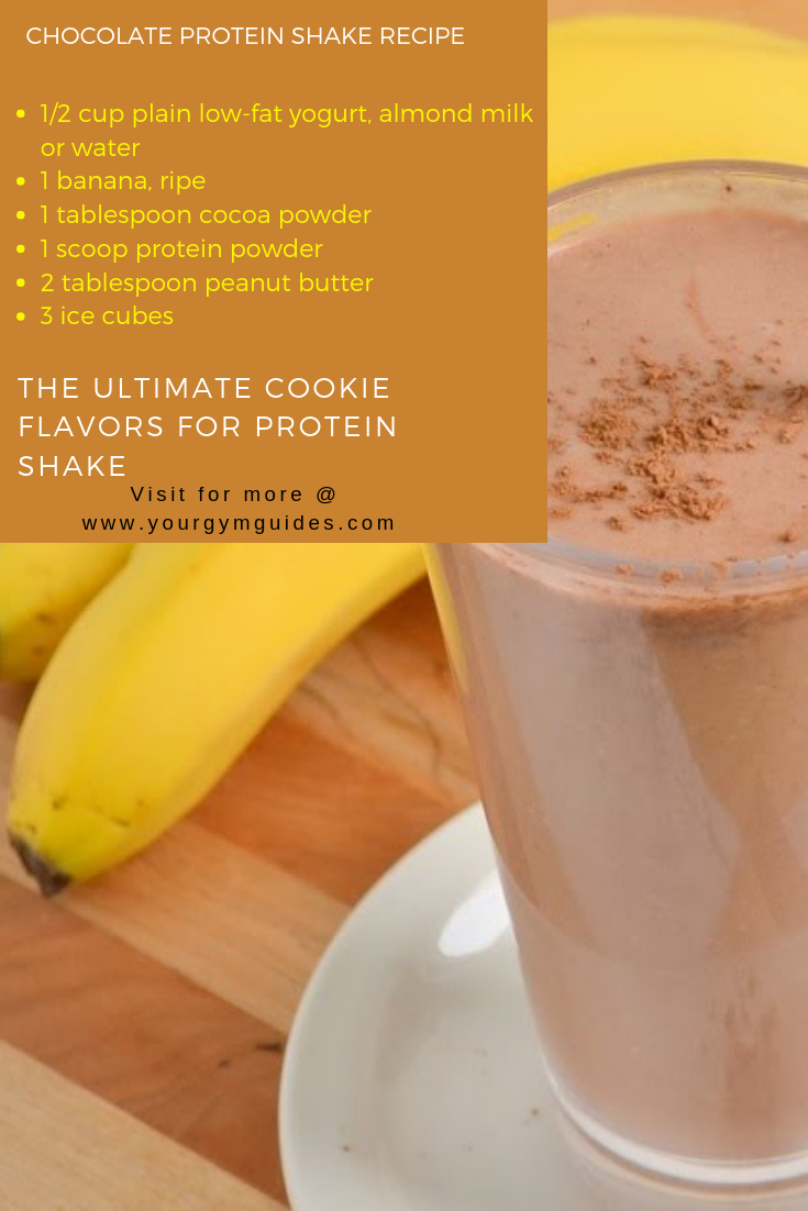 3 Best Healthy Protein Shake Recipes to Gain Muscle #proteinshakes